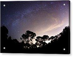 Starry Nights Acrylic Print by Emilio Lopez