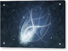 Starry Night Acrylic Print by Susan Leggett