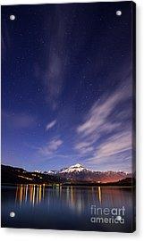 Starry Night Acrylic Print by Yuri Santin