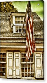 Stars And Stripes Acrylic Print by Mo T