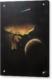 Stars Are What Dream Are Made Of Acrylic Print by Michael Hall