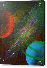 Stars Acrylic Print by Tomislav Neely-Turkalj