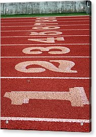 Starting Line Acrylic Print by Shoal Hollingsworth