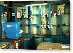 State Ration Store Acrylic Print by Peter J. Raymond