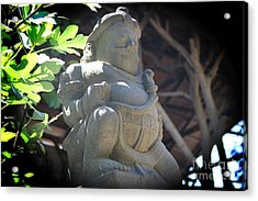 Statue In The Sun Acrylic Print by Jackie Mestrom