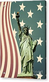 Statue Of Liberty Acrylic Print by Juli Scalzi
