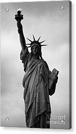 Statue Of Liberty National Monument Liberty Island New York City Nyc Acrylic Print by Joe Fox