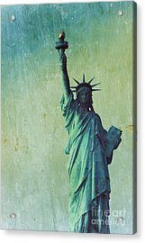 Statue Of Liberty Acrylic Print by Sophie Vigneault