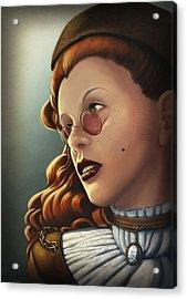 Steam Heritage Acrylic Print by Dorianne Dutrieux