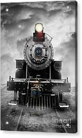 Steam Train Dream Acrylic Print by Edward Fielding
