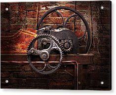 Steampunk - No 10 Acrylic Print by Mike Savad