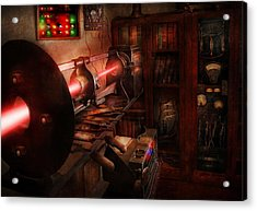 Steampunk - Photonic Experimentation Acrylic Print by Mike Savad