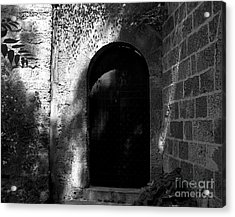 Steel And Stone Acrylic Print by Mel Steinhauer