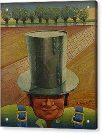 Steely Dan The Straightway Man Acrylic Print by Arthur Glendinning