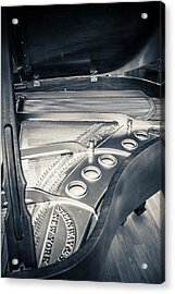Steinway Acrylic Print by Carrie Cole