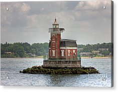 Stepping Stones Lighthouse I Acrylic Print by Clarence Holmes