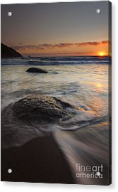 Stepping Stones Acrylic Print by Mike  Dawson