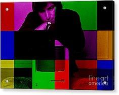 Steve Jobs Painting Acrylic Print by Marvin Blaine