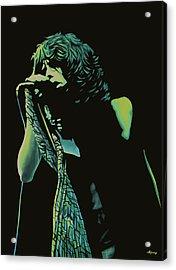 Steven Tyler 2 Acrylic Print by Paul Meijering