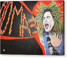 Steven Tyler Dream On Acrylic Print by Jeepee Aero
