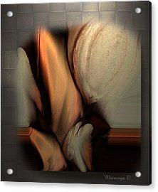 Still Abstract Acrylic Print by Ines Garay-Colomba