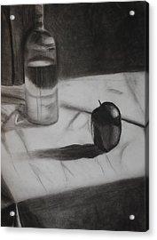 Still Acrylic Print by Leslie Ann Hammer
