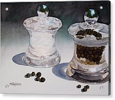 Still Life No. 4 Acrylic Print by Mike Robles