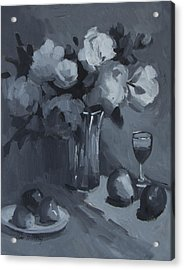 Still Life Study Acrylic Print by Diane McClary
