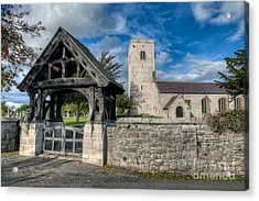 St.marcellas Entrance Acrylic Print by Adrian Evans
