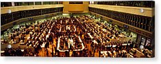 Stock Exchange Tokyo Japan Acrylic Print by Panoramic Images