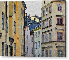 Stockholm 8 Acrylic Print by Yury Malkov