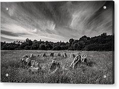 Stone Circle Ireland Acrylic Print by Pierre Leclerc Photography