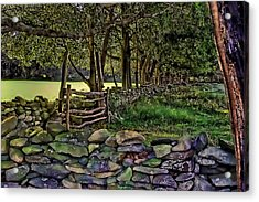 Stone Walled Acrylic Print by Tom Prendergast