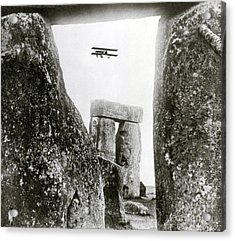 Stonehenge 1914 Acrylic Print by Science Source
