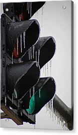 Stop Go Acrylic Print by Off The Beaten Path Photography - Andrew Alexander