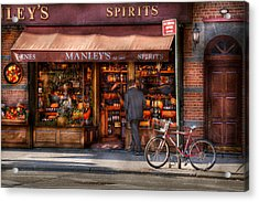 Store - Wine - Ny - Chelsea - Wines And Spirits Est 1934  Acrylic Print by Mike Savad