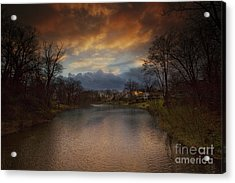 Storm Approaching Acrylic Print by Marco Crupi