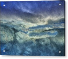 Storm Brewing Acrylic Print by Jack Zulli
