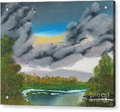 Storm Clouds Acrylic Print by Dave Atkins