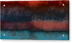 Storm Coming Acrylic Print by Bonnie Bruno
