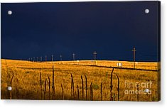 Storm Of Redemption Acrylic Print by Barbara Schultheis