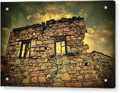 Storm Of Time Acrylic Print by Taylan Soyturk