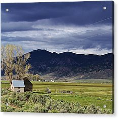 Storm On The Horizon Acrylic Print by Bruce Bley