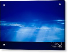 Storm Over Camotes Acrylic Print by Hank Taylor
