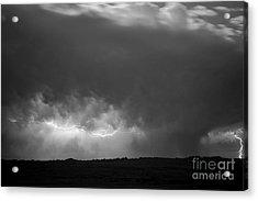 Storm Over Pine Ridge Acrylic Print by Chris  Brewington Photography LLC