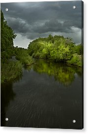 Storm Over The Poudre Acrylic Print by Michael Van Beber