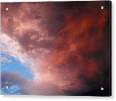 Storm Acrylic Print by Paulina Roybal
