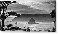 Storm Rolling In Acrylic Print by Andrew Soundarajan