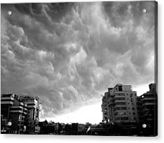 Storm Acrylic Print by Silvia Puiu