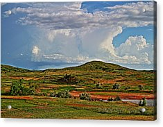 Storm's Brewing Acrylic Print by Jason Drake